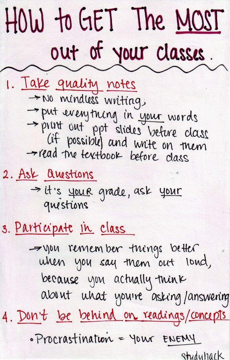 So holen Sie das Beste aus Ihrem Unterricht heraus – 'nuff school worries