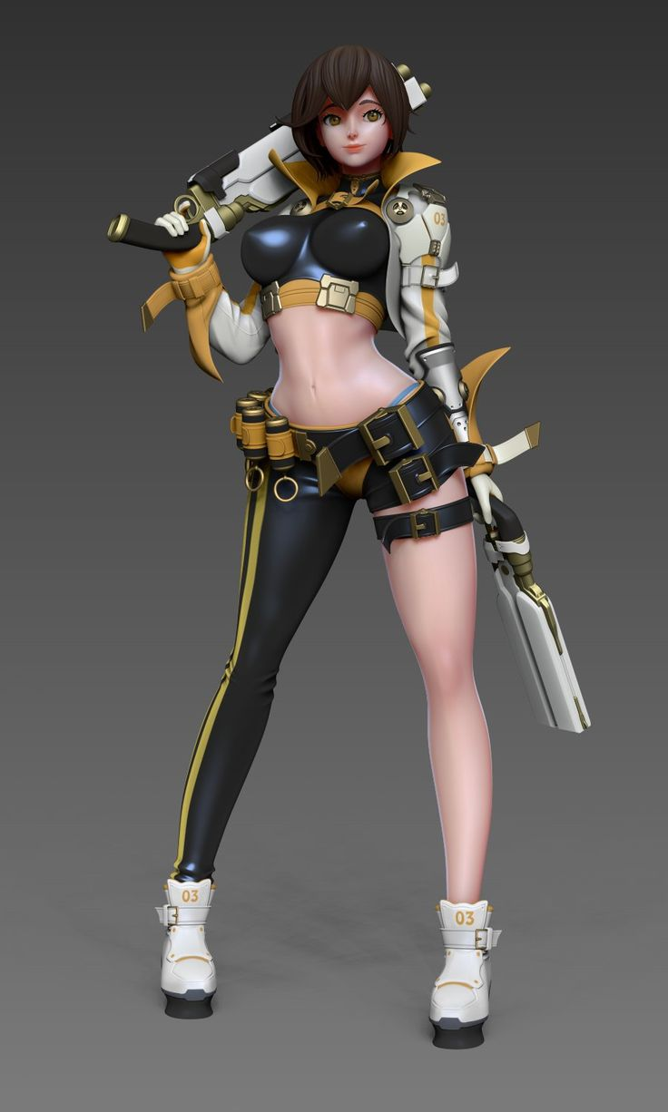 3d video game characters having some fun part 3 7