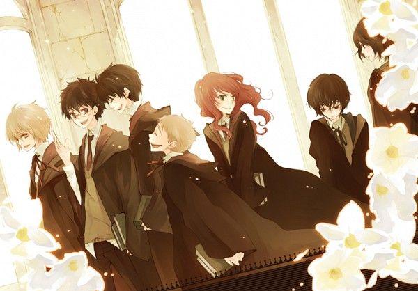 James Potter, Lily Evans, Peter Pettigrew, Regulus Black ...