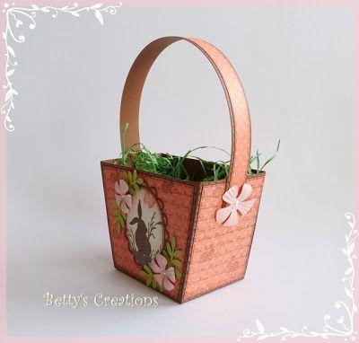 Bettys-creations: Kleines Körbchen mit Anleitung