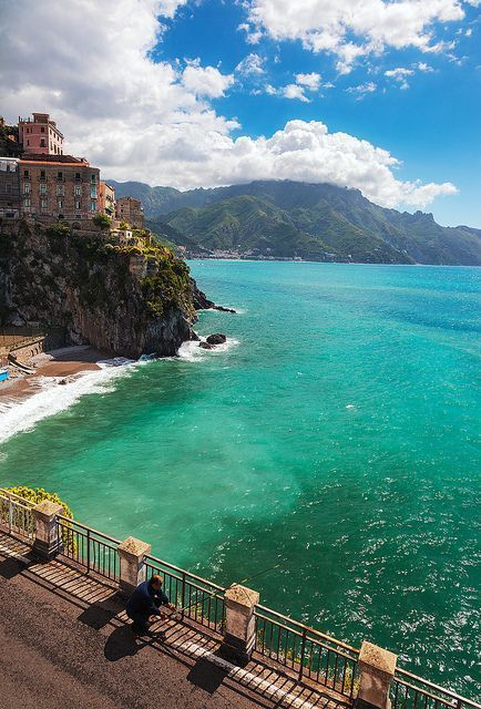 Wonderful pic of Amalfi Coast! #Amalficoast #travel #italy #pictureperfect