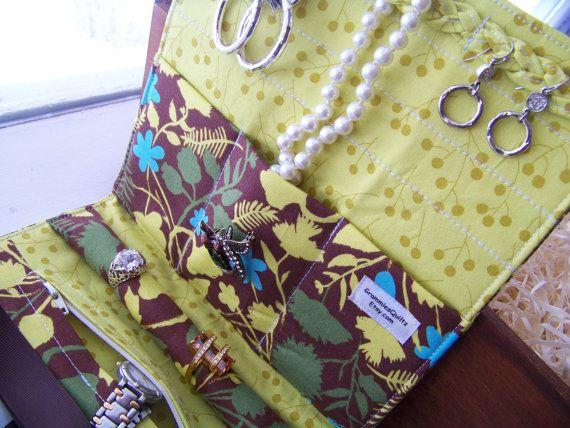 Jewelry Roll-Up/Clutch