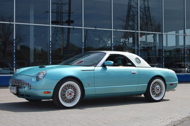 Just saw one of these for the first time yesterday - I AM IN LOVE ;-). Plus it was really cool 'cos the plate was T-BIRD 1