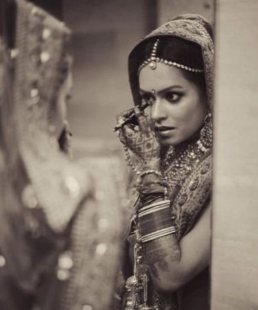 indian wedding photography. bridal photoshoot ideas