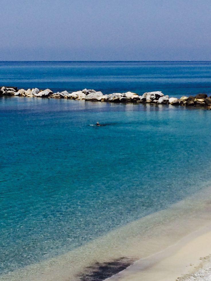 Spiaggia del convento #Tropea .
