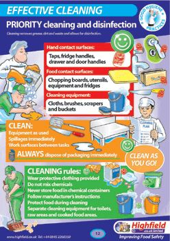 Food Safety Temperature Poster | next page 1 Incorporates HACCP principles and Food Code temperature ...