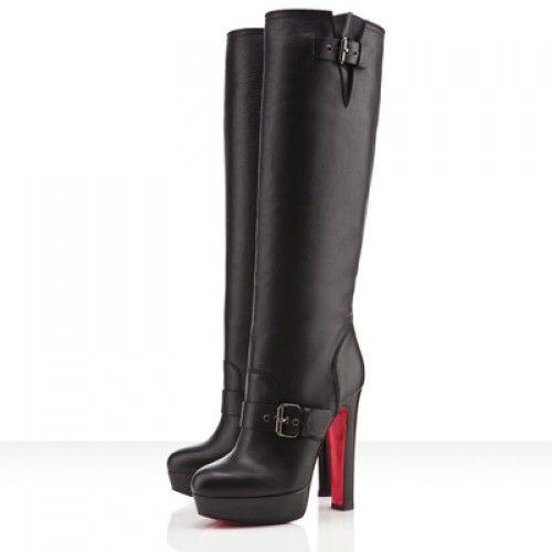 low boots louboutin pas cher