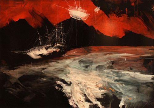 Artist painter Ian Francis ||| (*d*)