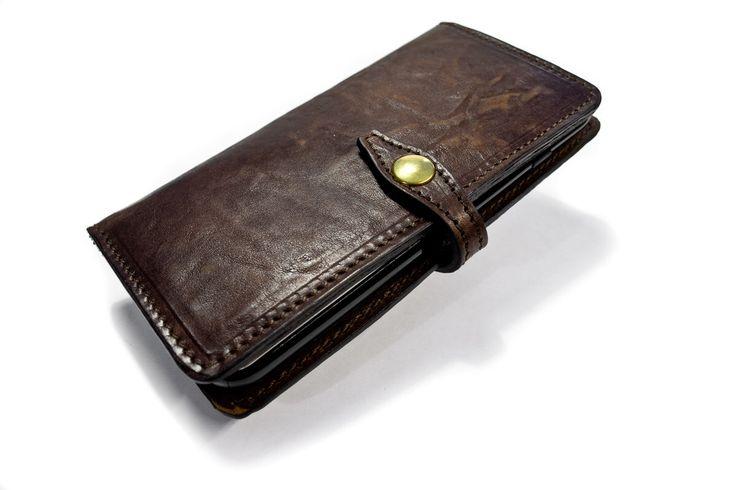 NEUES iPhone Leder Flip Book für iPhone Brieftasche Typ 7 oder 7 Plus wählen Sie Gerät und Farbe von TuscanLeather auf Etsy https://www.etsy.com/de/listing/464849254/neues-iphone-leder-flip-book-fur-iphone