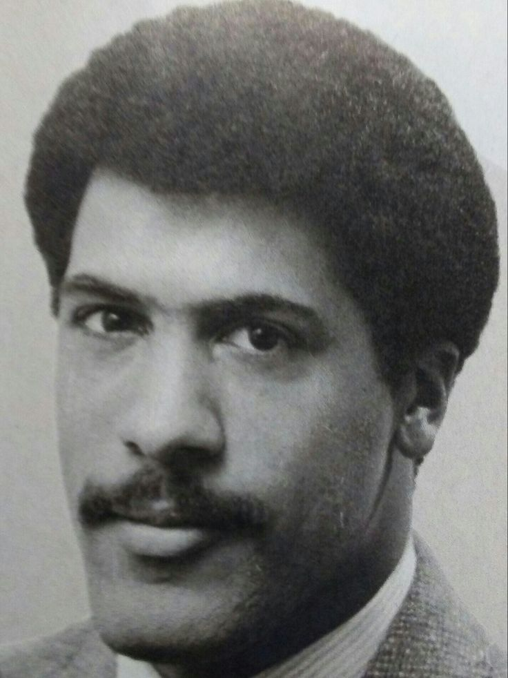 NBC Anchor Lester Holt back in the day son.