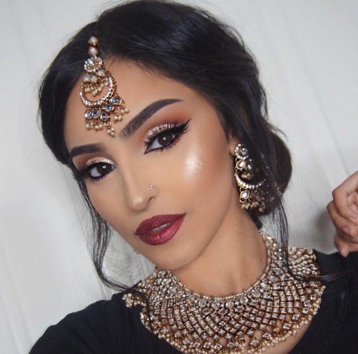 Arabicmakeup Indian Wedding Makeup Indian Bridal