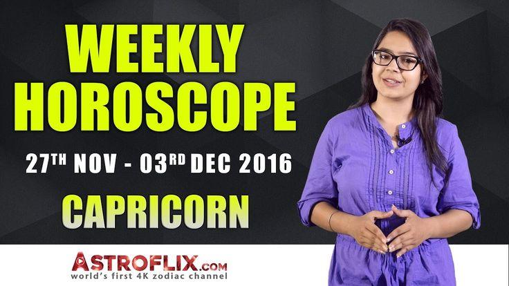 Capricorn Weekly Horoscope: November 27 to December 03, 2016 – GaneshaSpeaks.com #Capricorn #Weekly #Horoscope