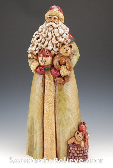 carved santas   Christmas Wishes   Santa Claus Figurines and Hand Carved Wooden Santas
