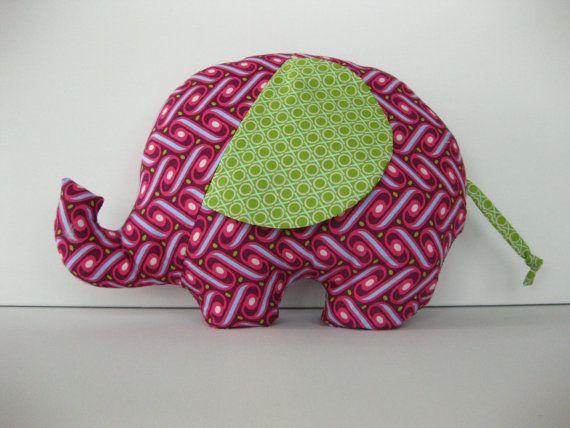 DIY stuffed elephant.