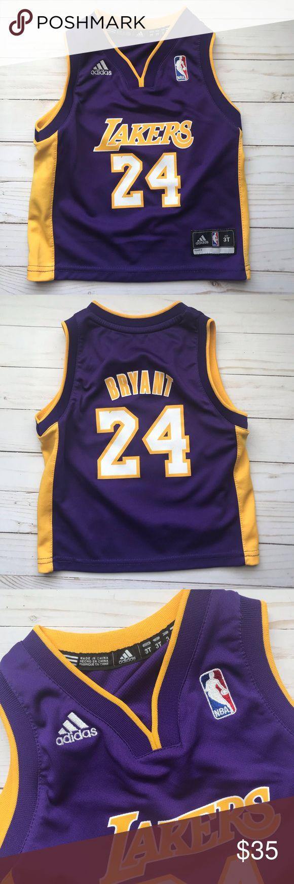 LA Lakers Kobe Bryant Adidas Replica Jersey 3T | Kobe bryant ...