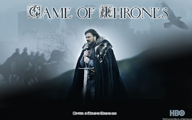 Game of Thrones: An American medieval fantasy television series created for HBO. It is an adaptation of A Song of Ice and Fire, George R. R. Martin's series of fantasy novels, titled A Game of Thrones. The series is filmed in Belfast, as well as on location elsewhere in Northern Ireland and in Malta, Croatia, Iceland and Morocco