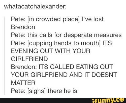 pete wentz and brendon urie drunk history of fob