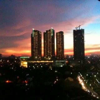 Jakarta at night..