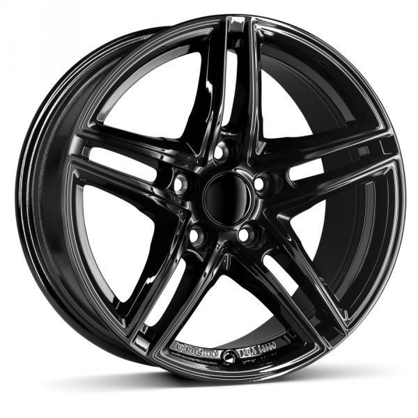 Borbet XR black glossy CB72.56 5/120 16x7 ET31 Jante - Preturi, Jante magazine, Borbet XR black glossy CB72.56 5/120 16x7 ET31 oferte