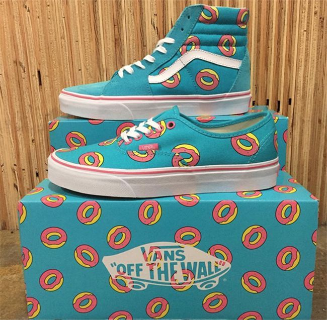 Odd Future x Vans 'Donuts' Pack - Zajawka - mens shoes on sale free shipping, mens casual dress shoes, shop for mens shoes online