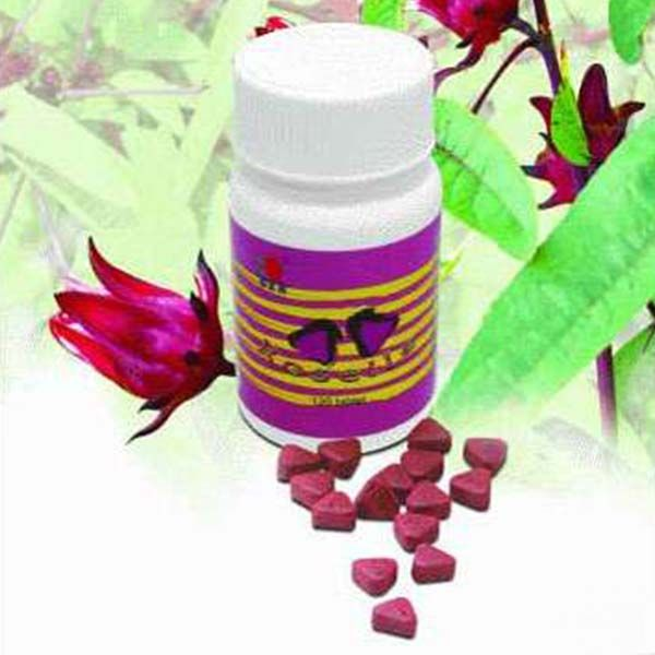 DXN Roselle Tablet Roselle tablet is a chewable source of Vitamin C, which aids in healing wounds and helps maintain stronger bones and teeth. It is an all-natural herbal candy for a healthy immune system.  300 mg x 120 tablets / bottle Family Pack (3 bottles x 120 tablets) FDA Reg. No.: FR-62585 #DXN #Roselle