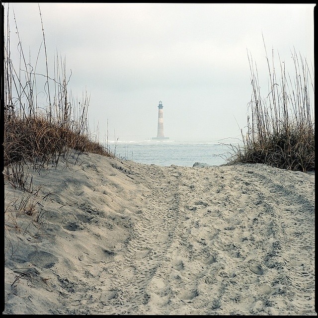 Morris Island Lighthouse, Folly Beach, SC  One of my favorite places on Earth.  Truly beautiful.