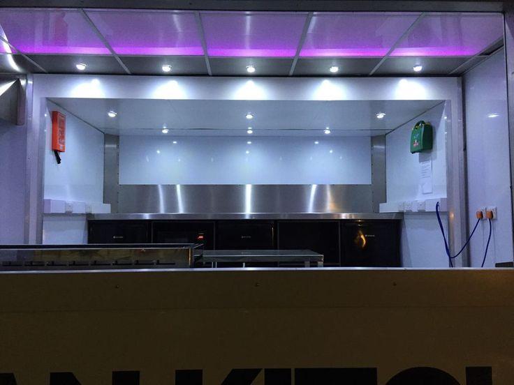 Unique Catering Truck Mobile Kitchen hospitality unit street food Trailer Van PX