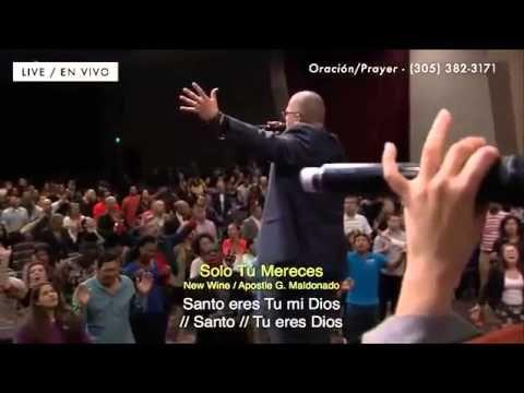 New Wine Solo Tu Mereces/ Only You Deserve El Rey Jesús Miami Florida (+...