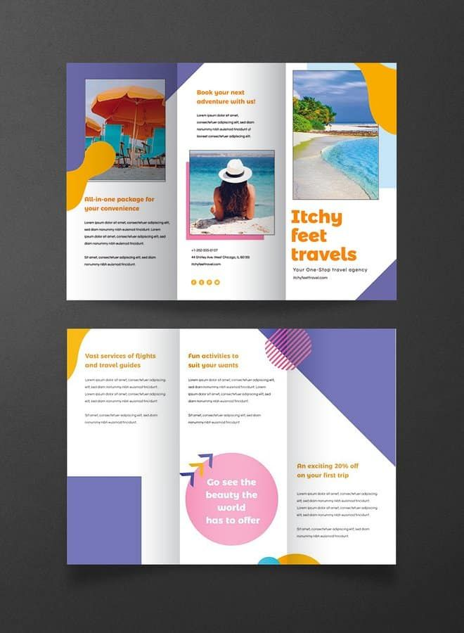 20 Free Ready Made Brochure Templates For Your Projects Free