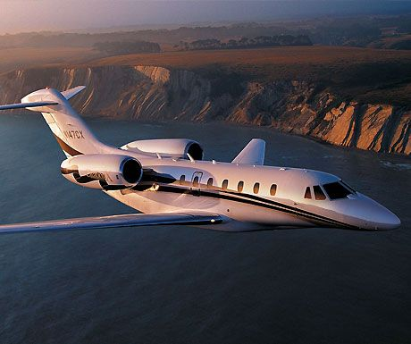The Worlds Fastest Private Jet: The New Cessna Citation X- a long-range, Medium Sized Business Jet