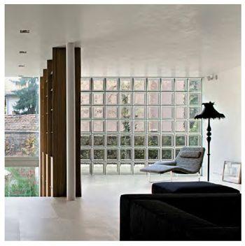 Voorbeelden van Glazen bouwstenen | Glastegels | Bouwglas