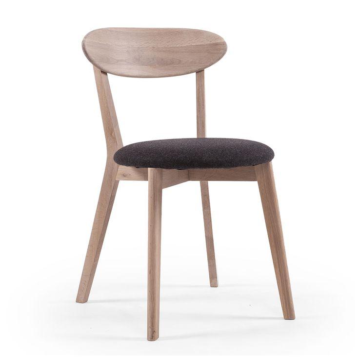 Wood+Fold+Spisebordstol,+Hvitpigmentert+Eik,+Department