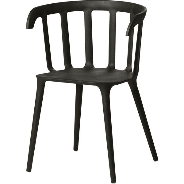 IKEA PS 2012 Armchair, black (4.915 RUB) via Polyvore featuring home, furniture, chairs, accent chairs, chair, black chair, black furniture, arm rest chair, black accent chair и black occasional chair