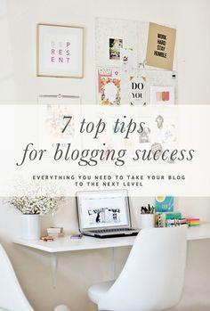 7 Top Tips for Blogging Success // Everything you need to take your blog to the next level // prettyfluffy.com/?utm_content=buffer8e415&utm_medium=social&utm_source=pinterest.com&utm_campaign=buffer