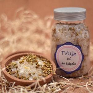 Sůl do koupele Bylinková Tvoja kozmetika
