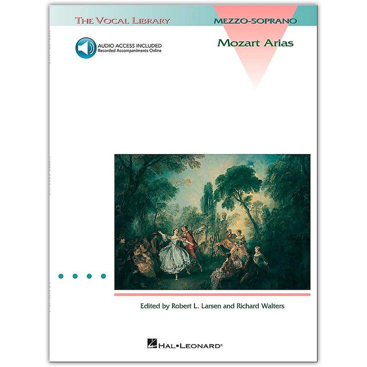 Hal Leonard Mozart Arias for Mezzo Soprano (Book/Online Audio)
