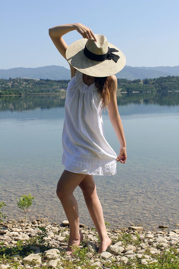 Il Lago di Bilancino e il cappello di paglia - Irene's Closet - Fashion blogger outfit e streetstyle
