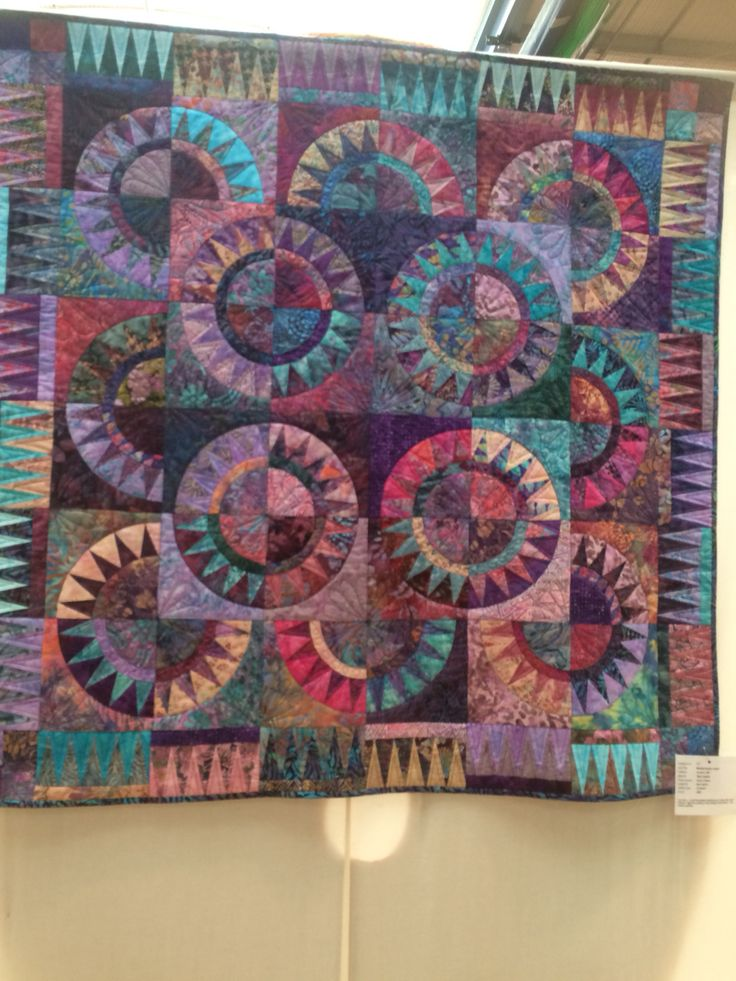 Mediterranian Jewel by Marj Ussher. I love the use of colours!