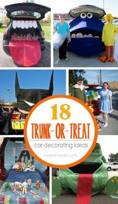 We have a Trunk-or-Treat every year with the members of our church congregation. I don't know if...