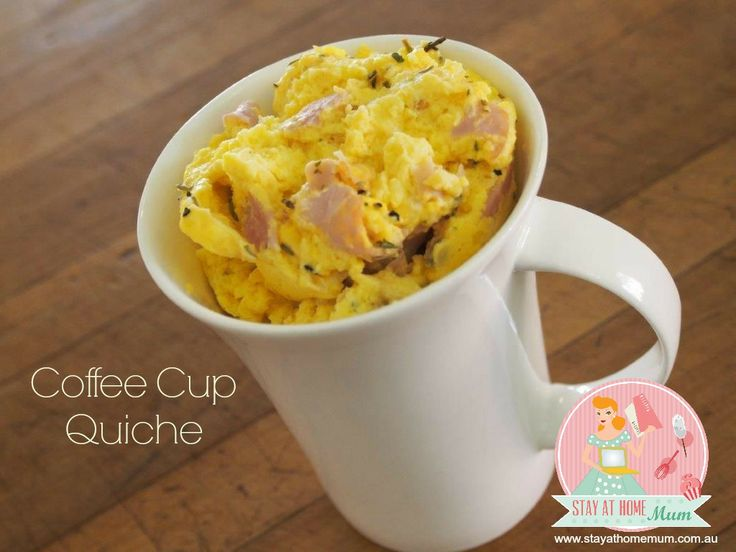 Coffee Cup Quiche | Stay at Home Mum