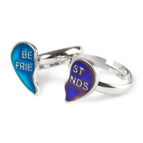 You & your bestie can share moods with these #BFF mood rings
