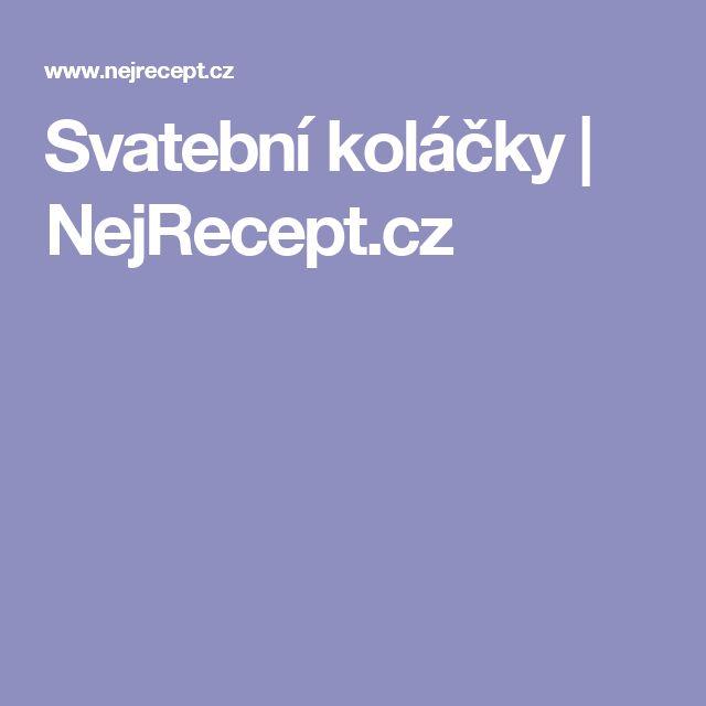 Svatební koláčky | NejRecept.cz