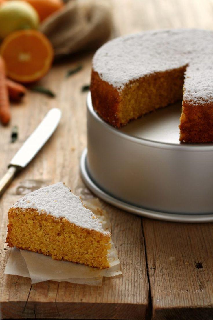 torta ACE integrale arancia carota e limone