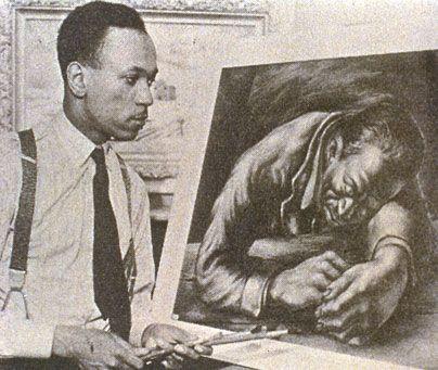 Charles White, graphic artist and teacher.
