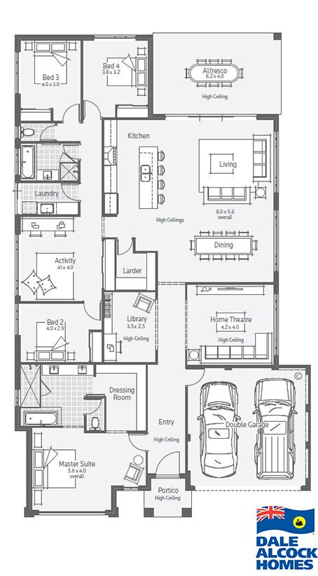 Welcome to the Affinity, a family orientated design featuring a resort  style master suite with dressing room, generous open plan living and  alfresco area.