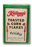 Contemporary Advertising Tins: Kelloggs Cereal Tin