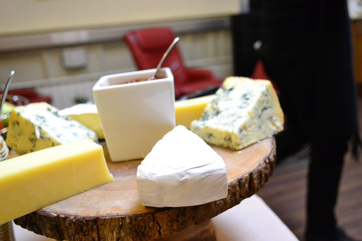 The London School of English - cheese platter