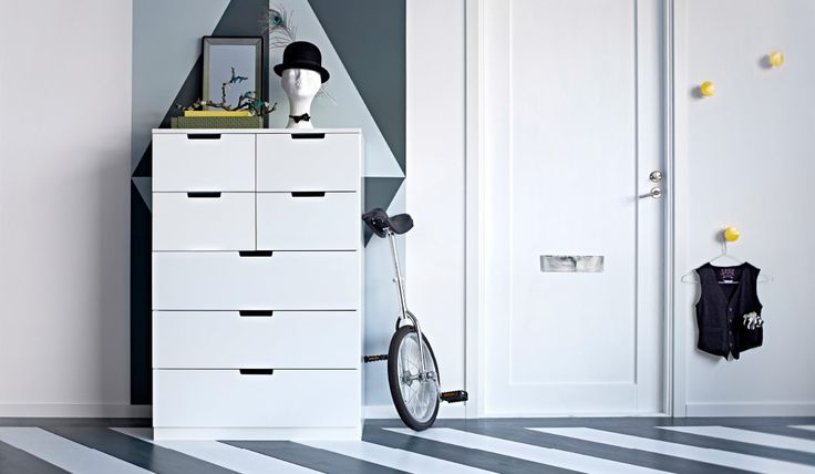 Ikea vit byrå (NORDLI)