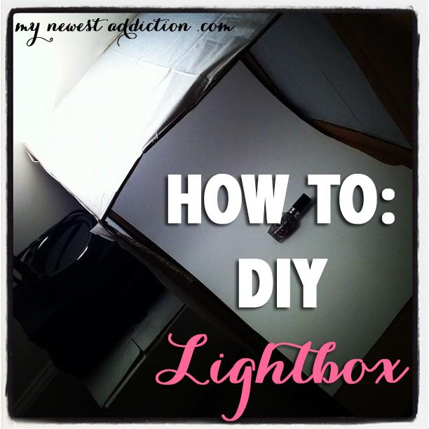 DIY: How To Make a Lightbox