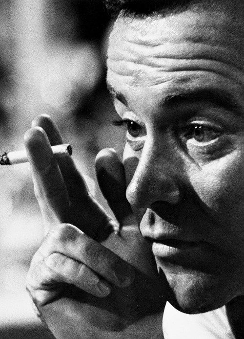 Jack Lemmon photographed by Bob Willoughby, 1961.